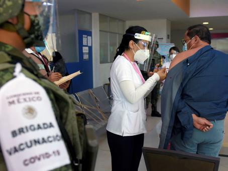 El lunes arranca vacunación masiva contra covid-19