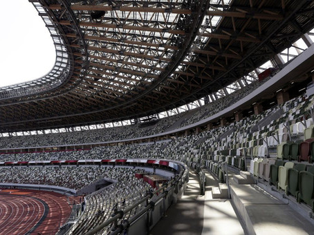 Tokio va con gradas vacías; los Juegos Olímpicos se celebrarán sin aficionados