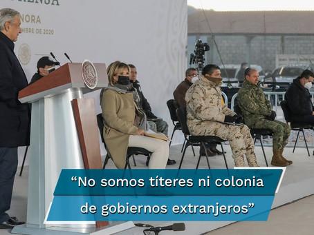 """AMLO sobre su política migratoria: """"No somos títeres de ningún gobierno, no somos colonia"""""""