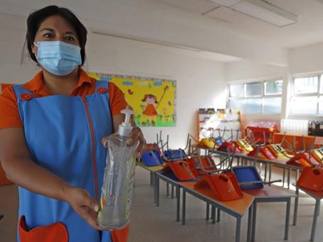 CDMX prepara el regreso presencial a las escuelas