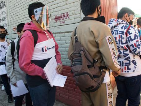 Reportan primer caso de COVID-19 en escuela de CDMX tras regreso a clases presenciales