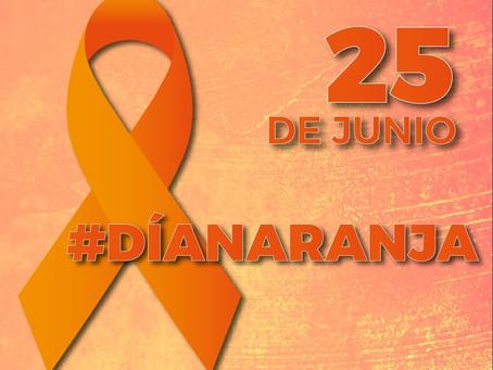 El 25 de cada mes: Día Naranja, para que se nos grabe