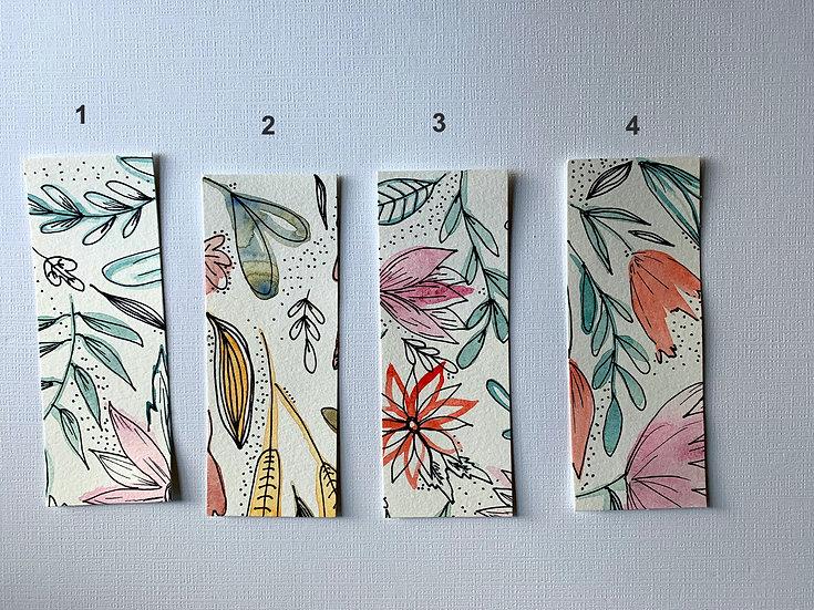 Autumn  Floral Bookmarks 2
