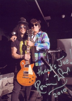 Slash & Ronnie Wood
