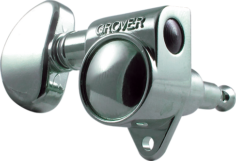 Grover Original Rotomatic Machine heads / Tuners - Chrome 102C