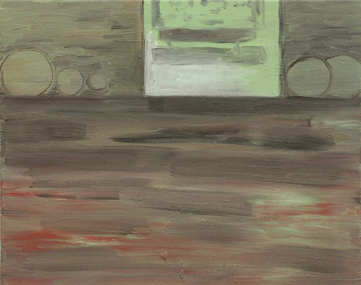 flat - 2009 -oil on canvas - 40 x 50cm.j