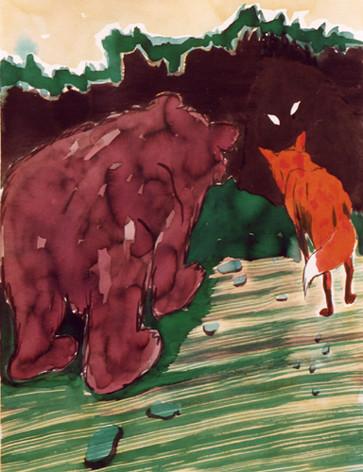 wer da -2004 - ink on paper - 65 x 50 cm