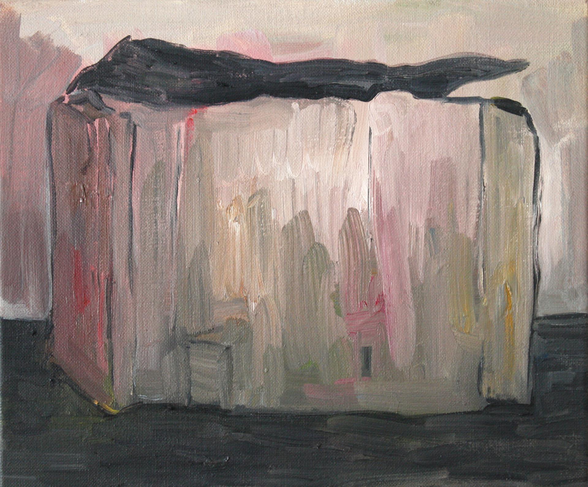 schachtel #01 - 2011 - öl auf leinwand 28 x 35 cm