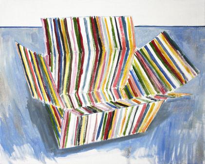 schachtel #03 - 2011 - öl auf leinwand - 40 x 50 cm