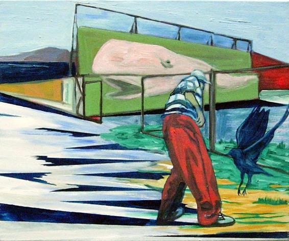 bigfish3 - 2005 -oil on canvas - 50 x 60