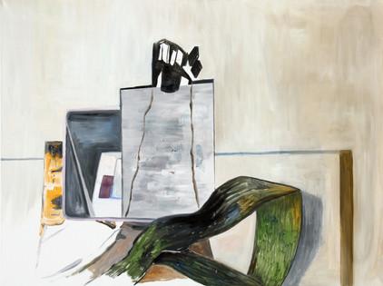 turm - 2009 - öl auf leinwand - 120 x 160 cm