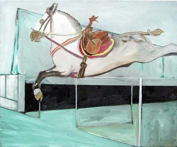 bigfish2 - 2005 - oil on canvas - 50 x 6