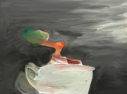 cup - 2009 - oil on canvas - 30 x 40cm.j