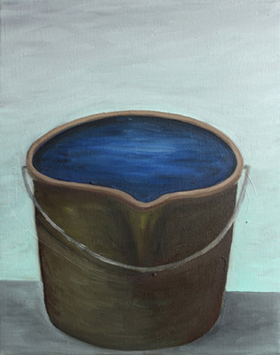 fresh one - 2010 - oil on canvas - 30 x