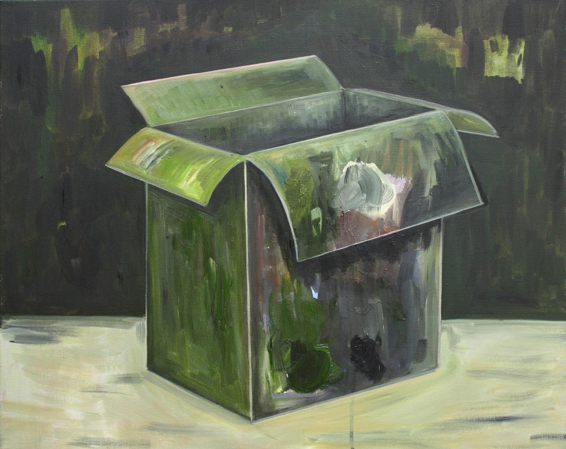 schachtel #02 - 2011 - öl auf leinwand - 60 x 75 cm