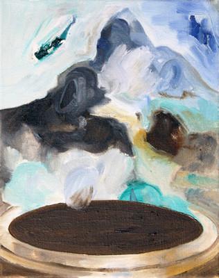 deep one - 2010 - oil on canvas - 30 x 2