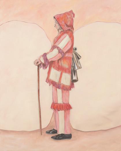 careto - 2016 - öl auf leinwand - 100 x 80 cm