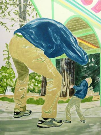 1020 - 2005 - oil on canvas - 190 x 145