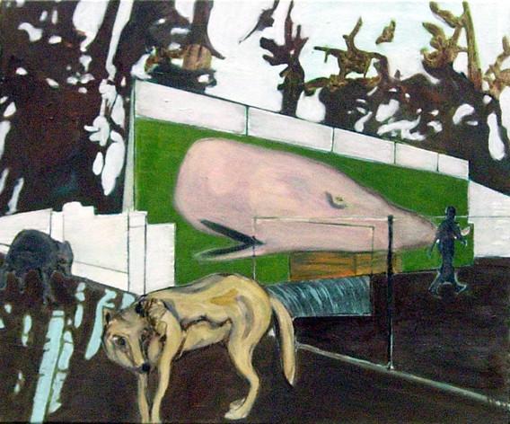bigfish1 - 2005 - oil on canvas - 50 x 6