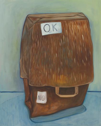 o.k. - 2013 - öl auf leinwand - 100 x 80 cm