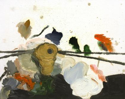 nest - 2009 - oil on canvas - 40 x 50cm.