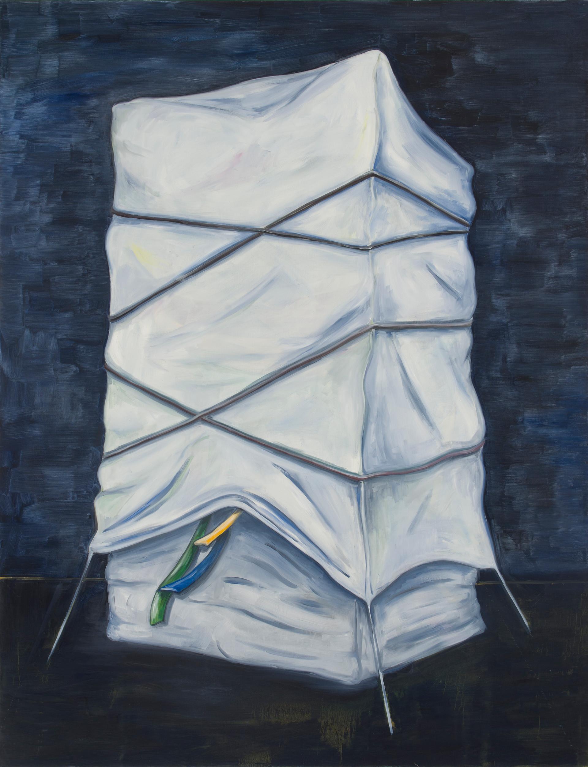 monument - 2012 - öl auf leinwand - 190 x 145 cm
