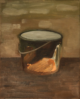 brown one - 2010 - oil on canvas - 30 x