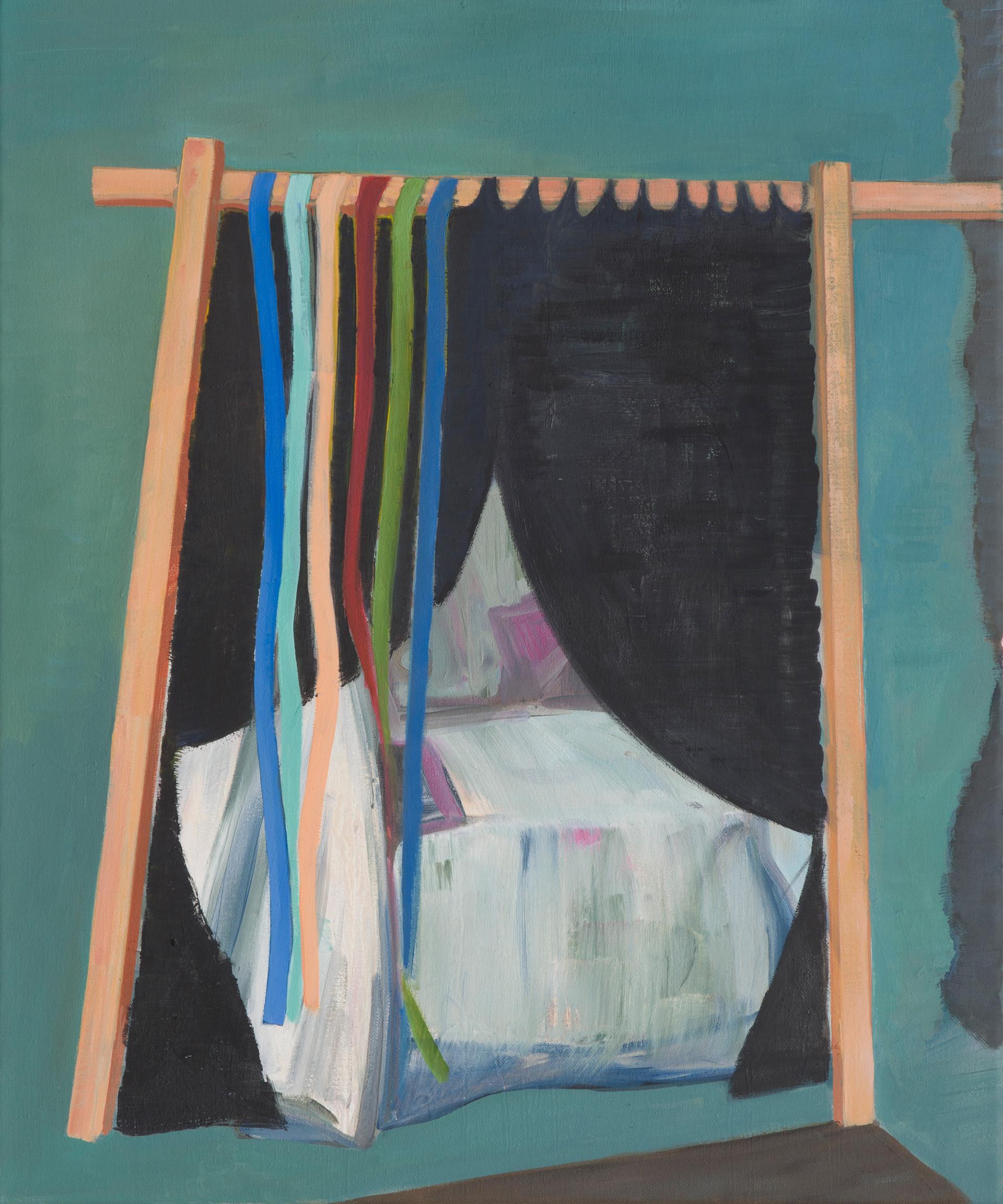 bedroom - 2014 - öl auf leinwand - 60 x 50 cm