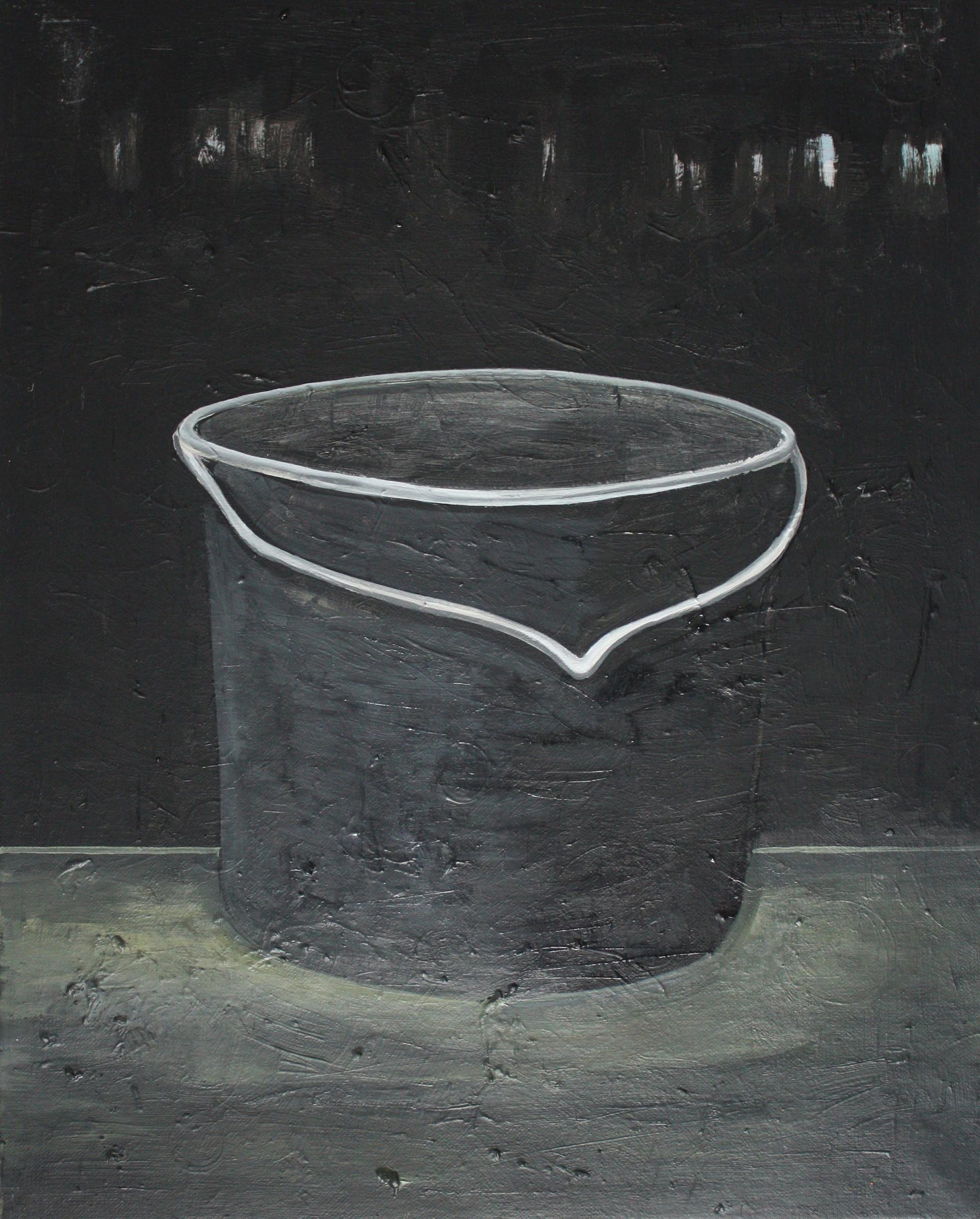 black one - 2010 - öl auf leinwand - 50 x 40 cm
