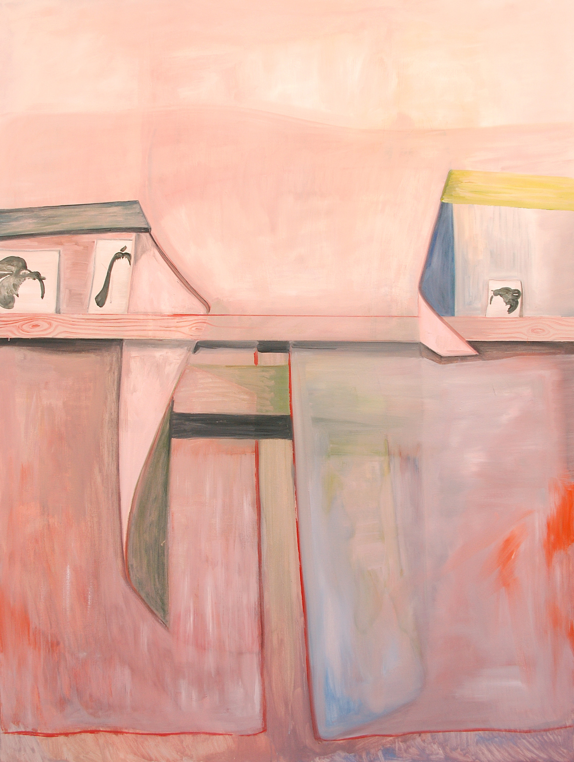 menagerie - 2008 - öl auf leinwand - 160 x 120 cm