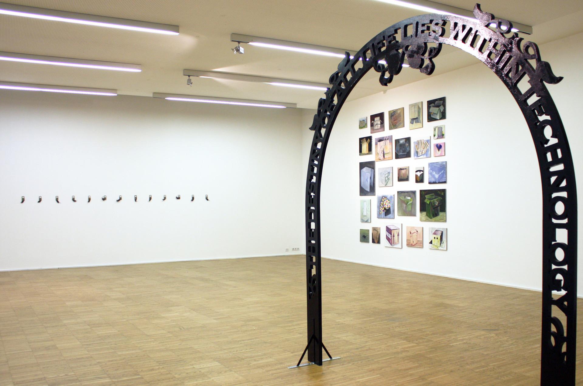 Ausstellungsansicht - Galerie Maerz - Linz