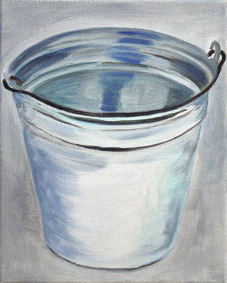 milk one - 2010 - oil on canvas - 30 x 2