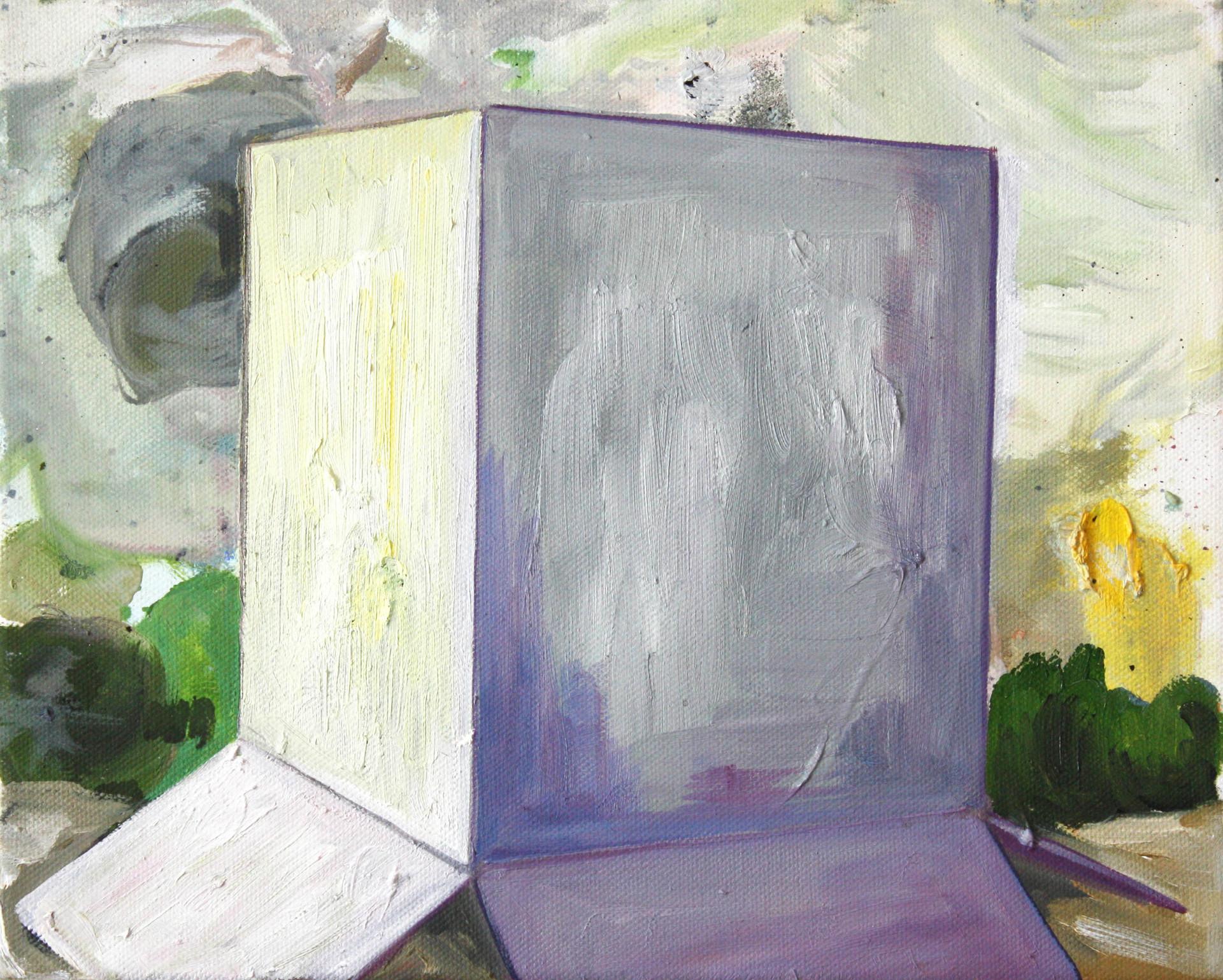 schachtel #11 - 2012 - öl auf leinwand - 29 x 35 cm