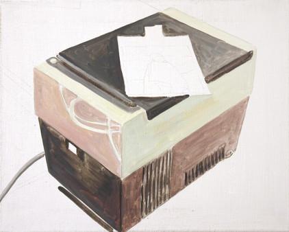 on top - 2010 - öl auf leinwand - 40 x 50 cm