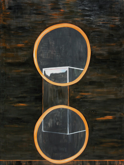 j.l. - 2009 - öl auf leinwand - 160 x 120 cm