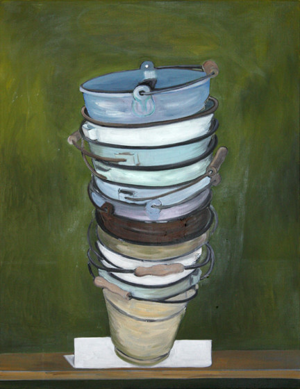 pisa II - 2010 - oil on canvas - 90 x 70