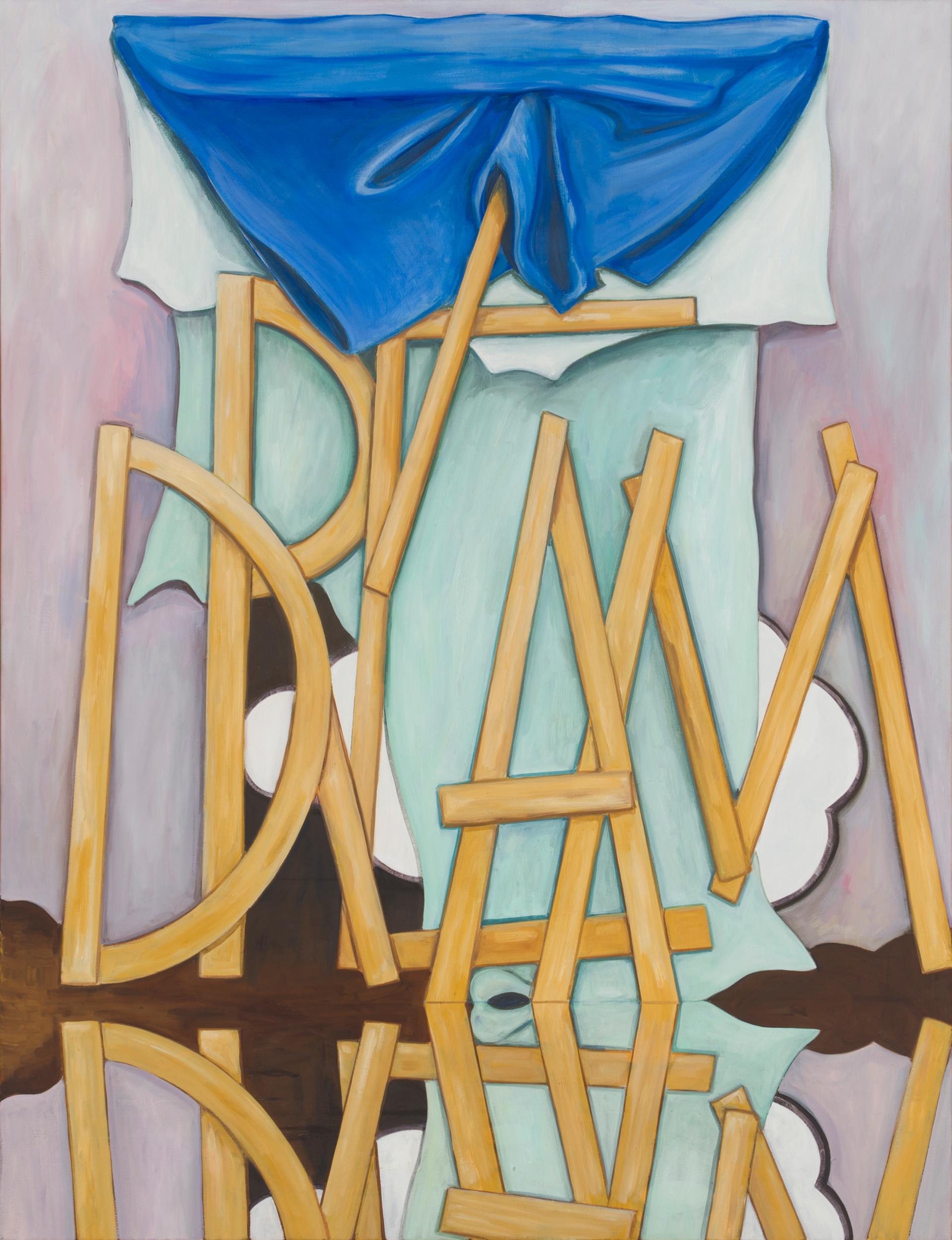 dream - 2013 - öl auf leinwand - 130 x 100 cm
