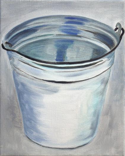milk o - 2010 - öl auf leinwand - 30 x 24 cm
