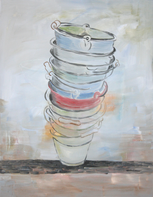 pisa - 2010 - öl auf leinwand - 90 x 70 cm