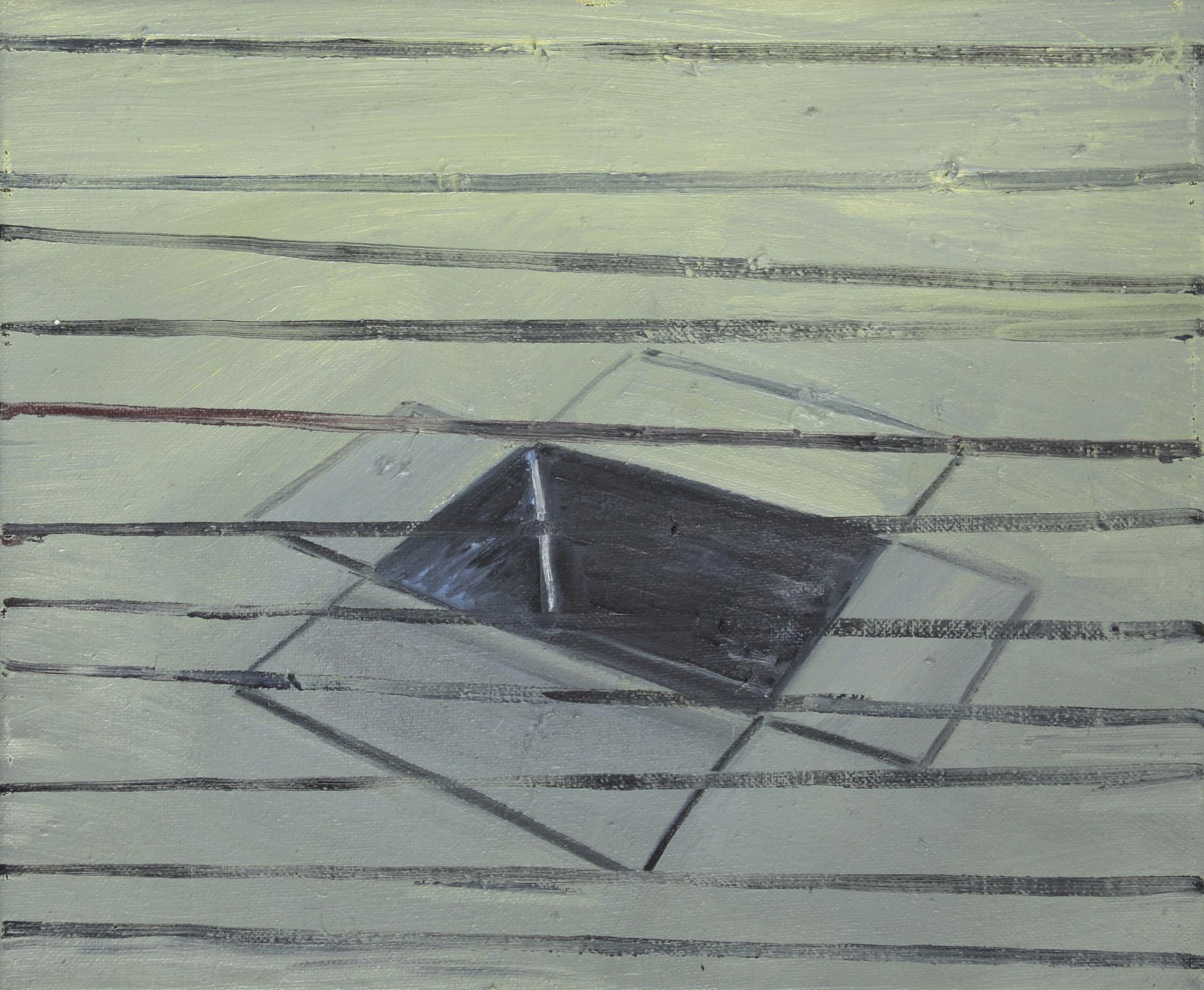 schachtel #21 - 2011 - öl auf leinwand - 28 x 35 cm