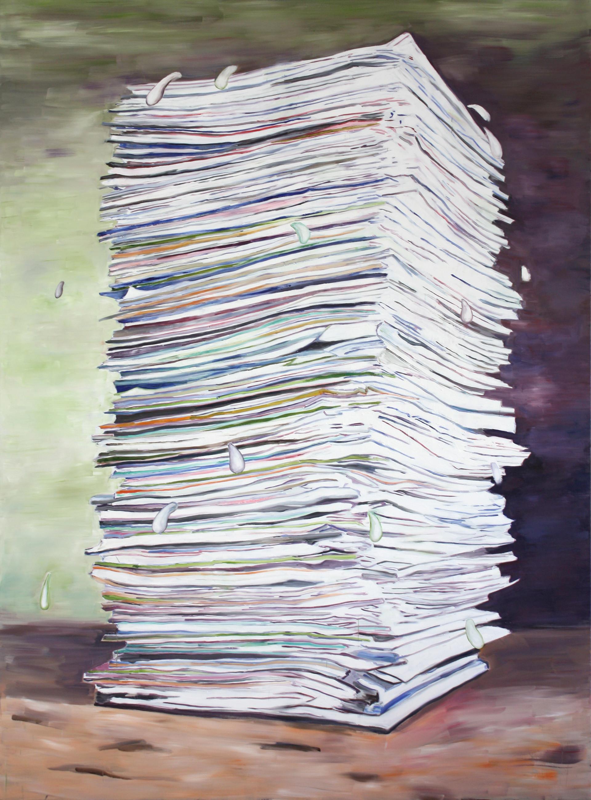 big painting - 2012 - öl auf leinwand - 250 x 180 cm