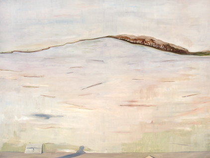 westausfahrt - 2008 - öl auf leinwand - 145 x 190 cm