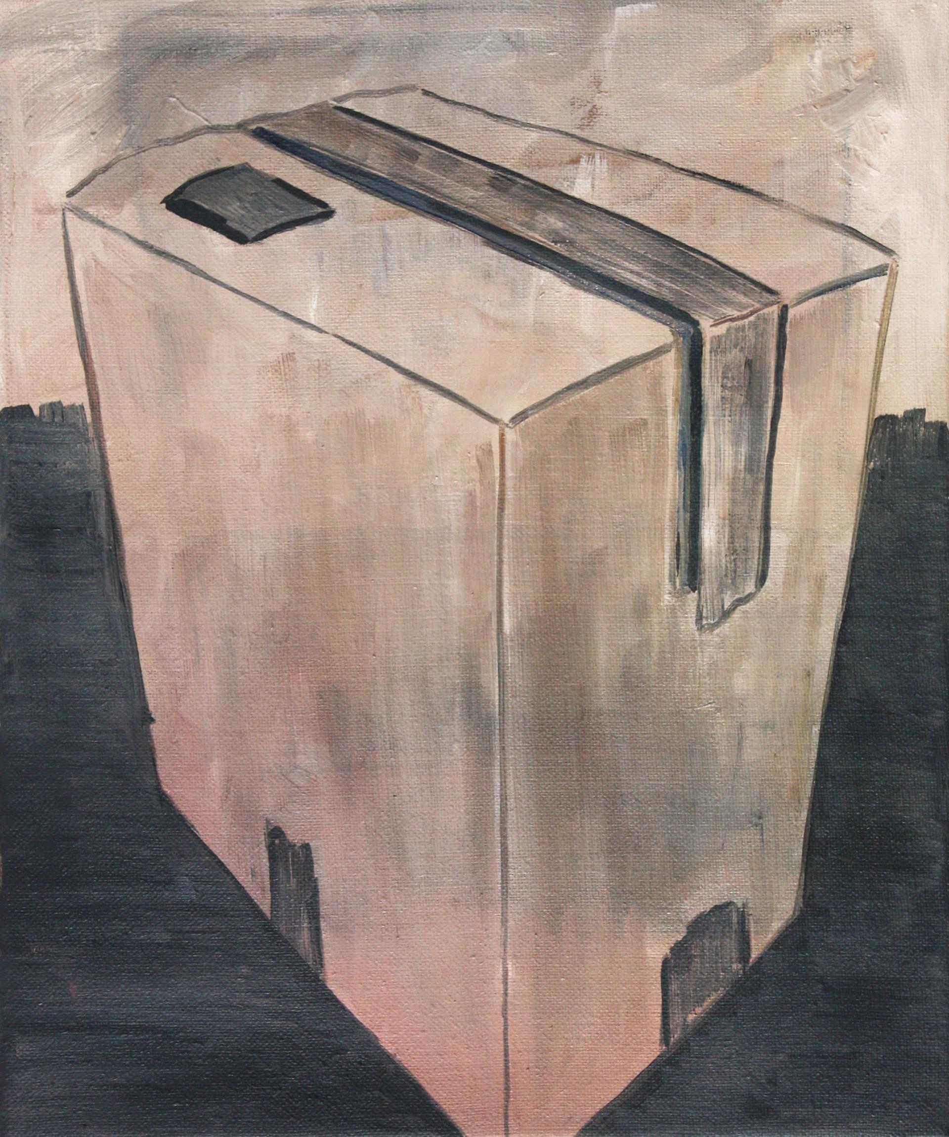 schachtel #8 - 2011 - öl auf leinwand - 35 x 28 cm