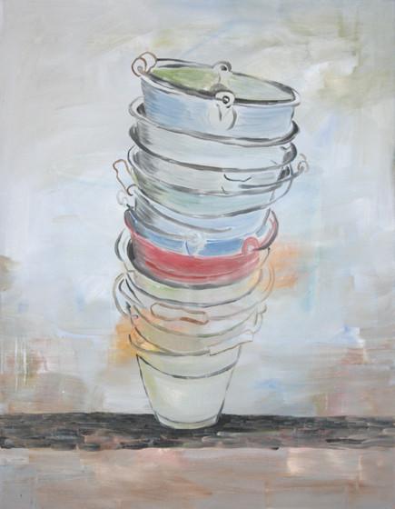 pisa - 2010 - oil on canvas - 90 x 70 cm