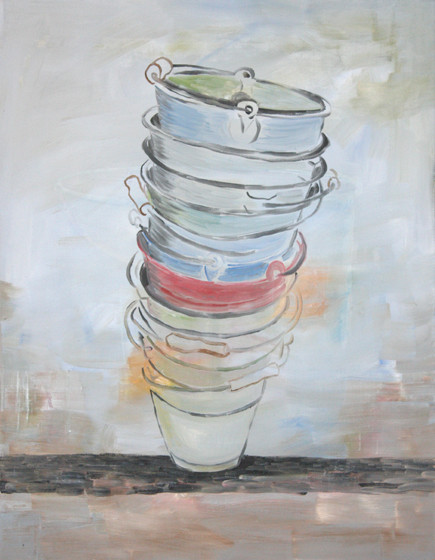 pisa - 2010 - oil on canvas - 90 x 70 cm