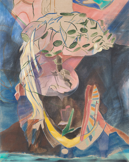 capriccio - 2015 - wasserfarbe auf leinwand - 100 x 80 cm