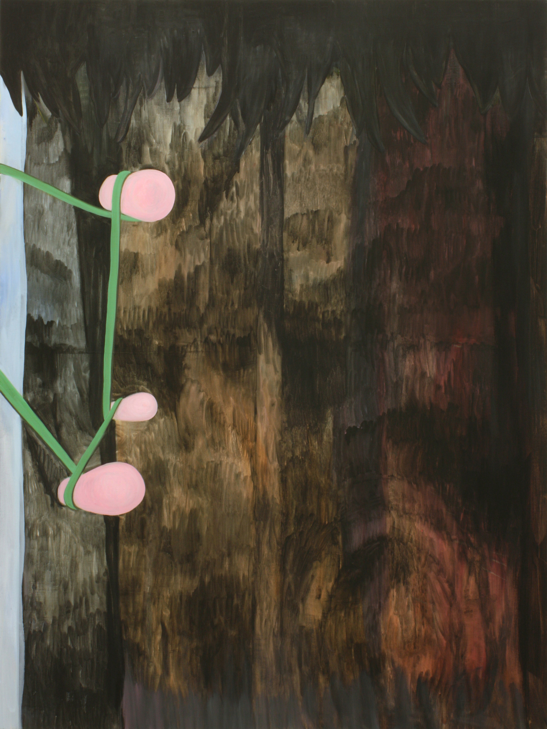 swamp - 2009 - öl auf leinwand - 160 x 120 cm