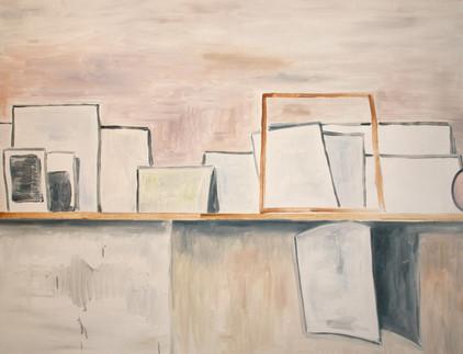 shelf II - 2010 - öl auf leinwand - 70 x 90 cm