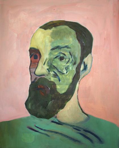 jim (after H. Matisse) - 2017 - öl auf leinwand - 50 x 40 cm