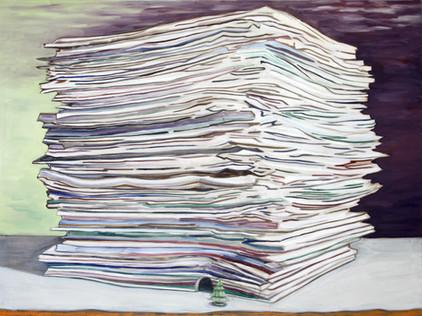 house - 2012 - öl auf leinwand - 120 x 160 cm